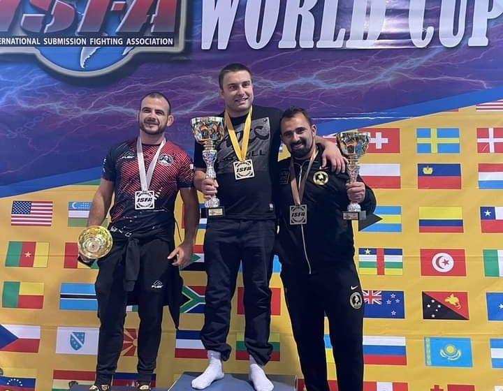 """Клуб """"Беси"""" с медали на Световната купа на ISFA"""